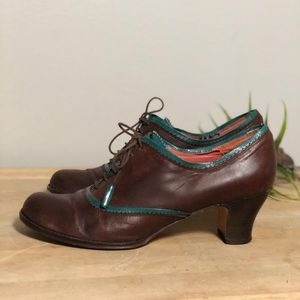 Audley London Lace Up Oxford